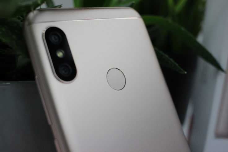 Xiaomi Mi A2 Lite Fingerabdrucksensor
