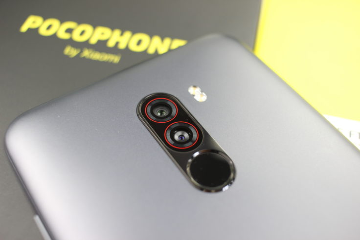 Xiaomi Pocophone F1 Kamera nah