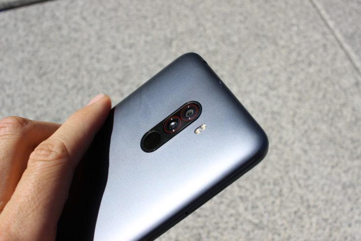 Xiaomi Pocophone F1 Rückseite Verarbeitung