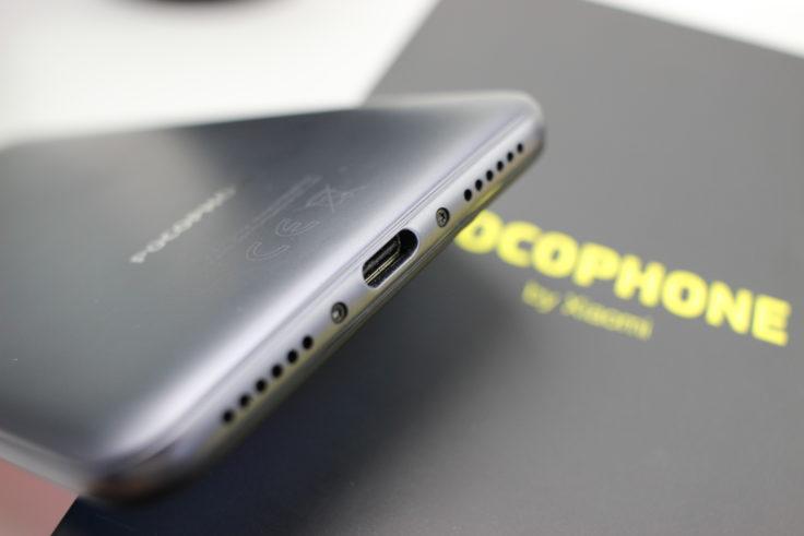 Xiaomi Pocophone F1 USB Typ-C Slot