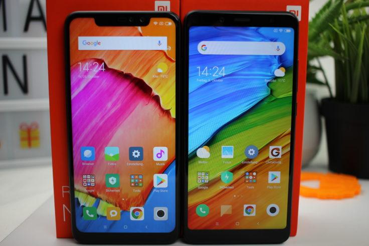 Xiaomi Redmi Note 6 Pro vs Note 5 Display