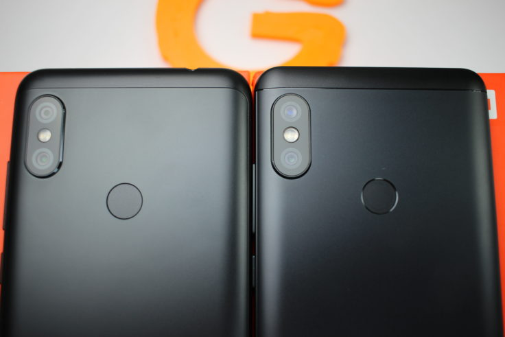 Xiaomi Redmi Note 6 Pro vs Note 5 Rückseite
