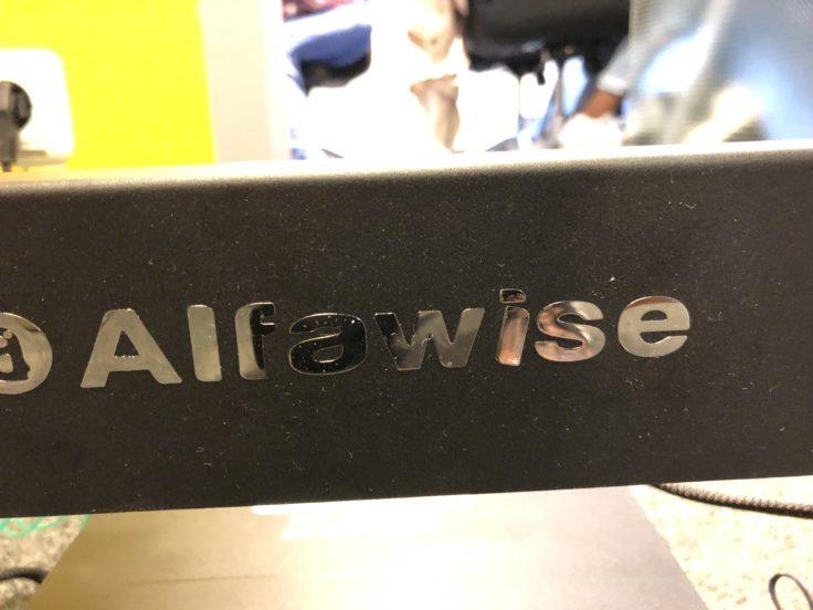 Alfawise Schriftzug