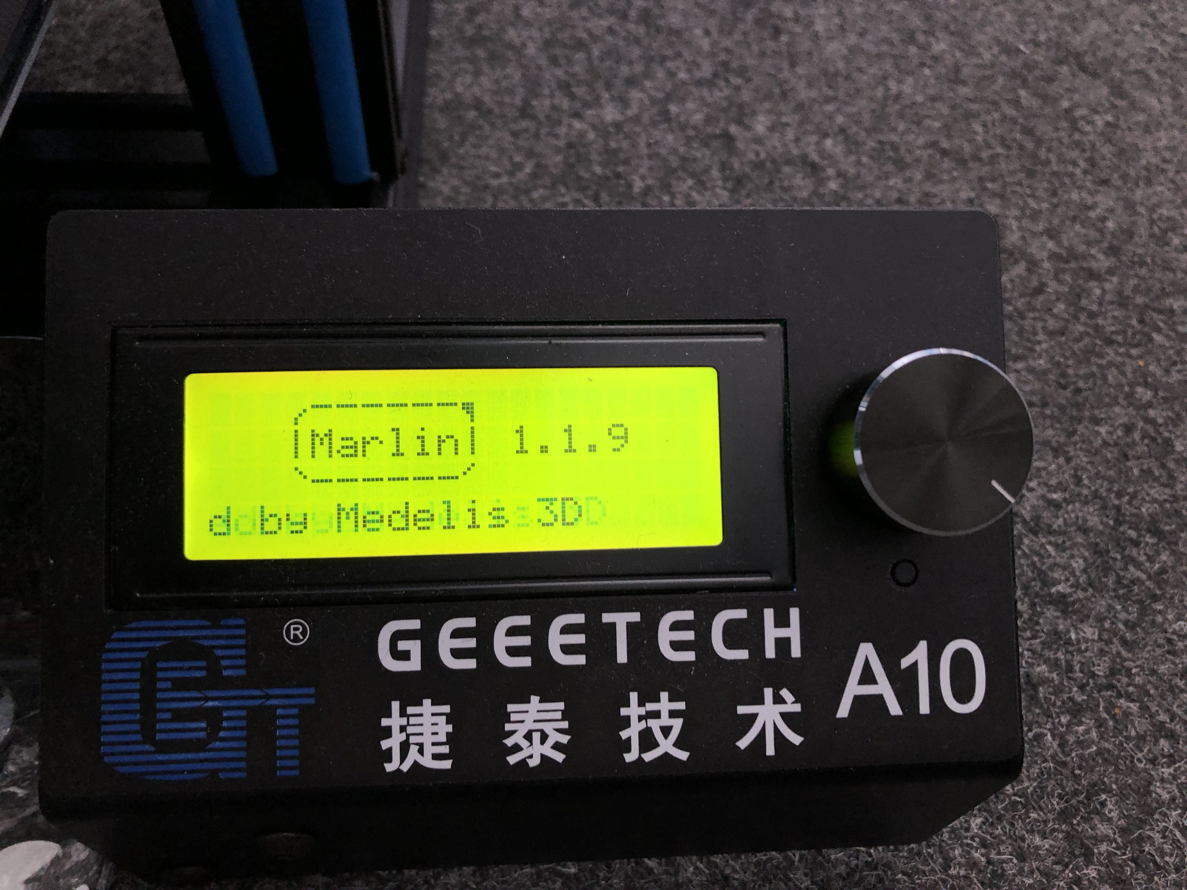 how to flash geeetech a10m firmware
