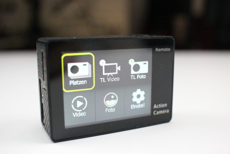 EKEN Alfawise V50 Actioncam Display (1)