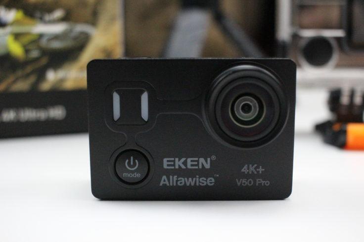 EKEN Alfawise V50 Actioncam Front