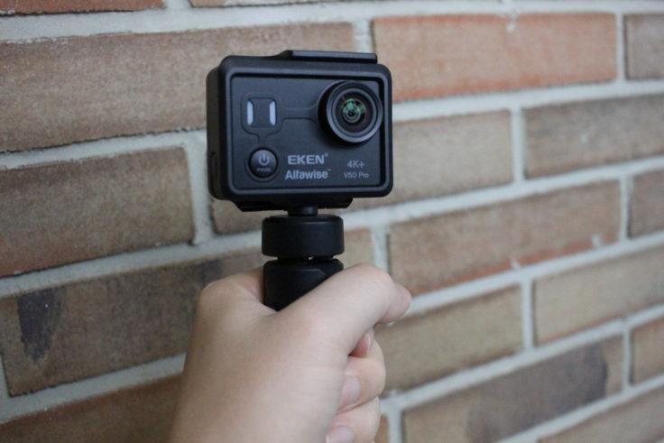 EKEN Alfawise V50 Actioncam Halterung (2)