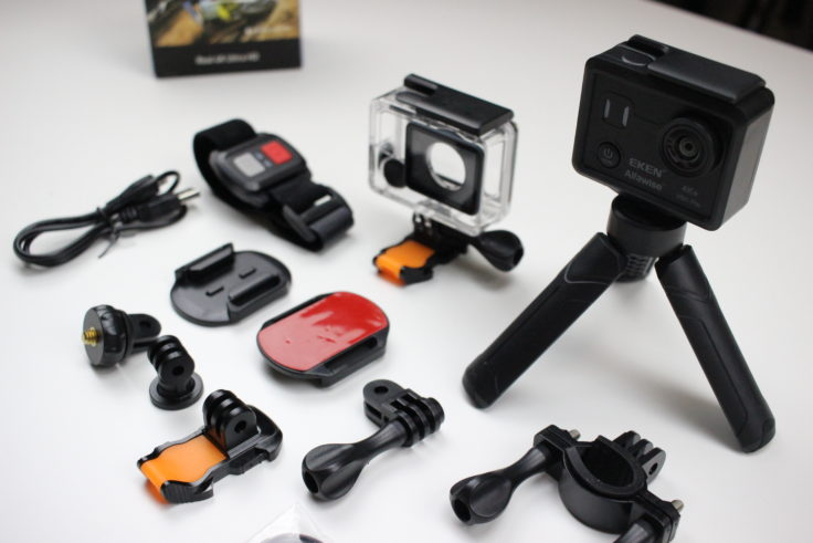 EKEN Alfawise V50 Actioncam Zubehör (2)
