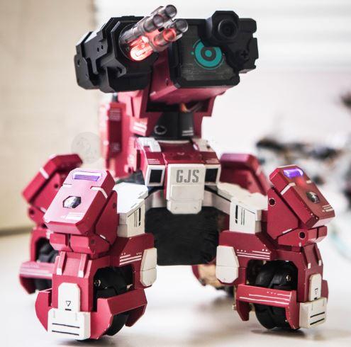Geio Kampfroboter Design