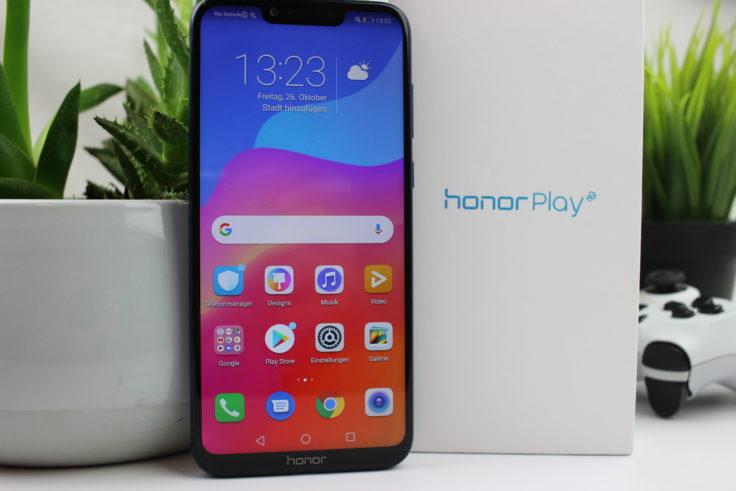 Honor Play Smartphone Verpackung