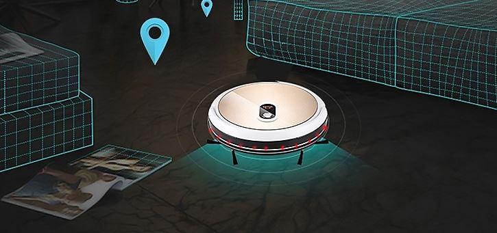 IMASS A3-WGD Saugroboter Gyrosensor Navigation