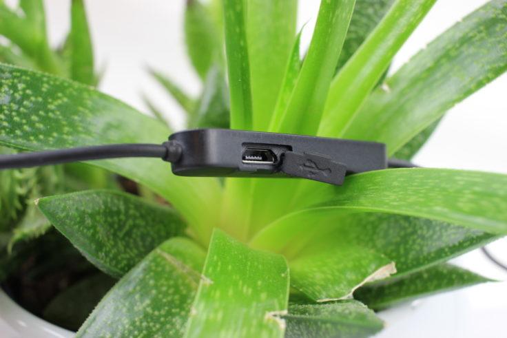 KZ BTE Micro-USB Port