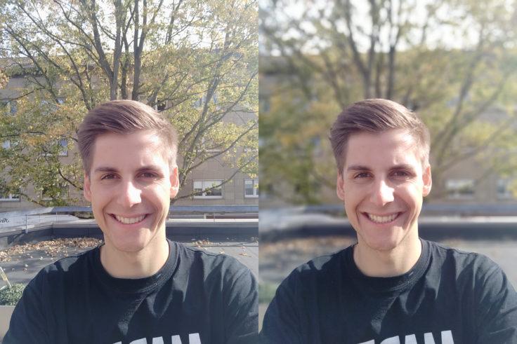 Meizu 16 Testfoto Frontkamera Portrait Vergleich