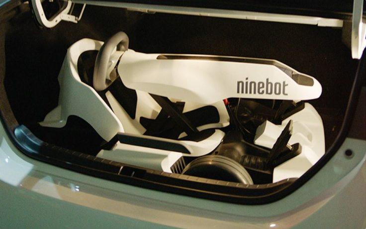 Ninebot Segway Gokart Kofferraum