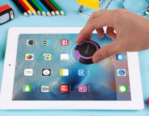 Tisch-Staubsauger Smartphone