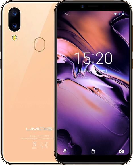 UMIDIGI A3 Smartphone Display