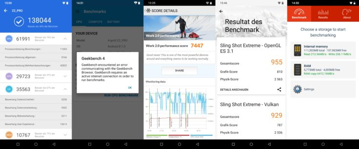 UmiDigi Z2 Pro Benchmarks