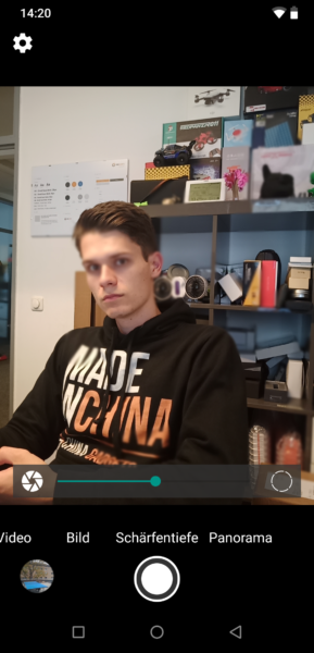 UmiDigi Z2 Pro Portrait Fail