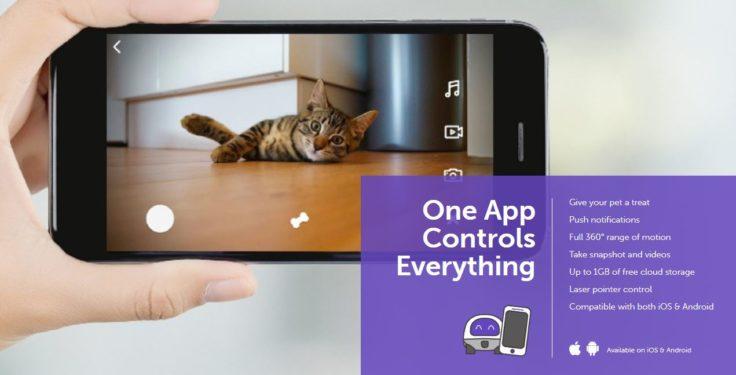 VAVA Pet Cam Haustierroboter App