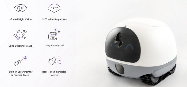 VAVA Pet Cam Haustierroboter Funktionen