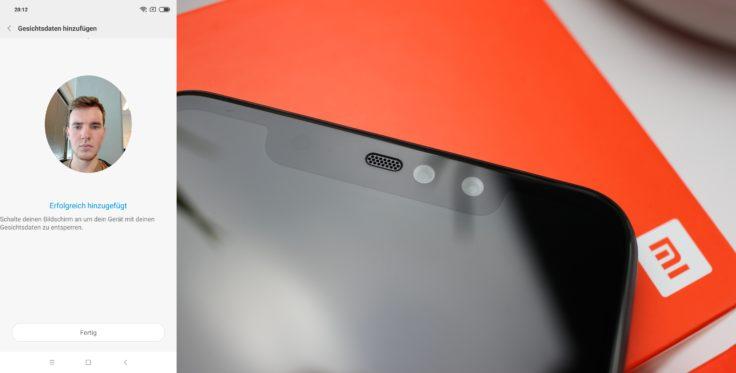 Xiaomi Redmi Note 6 Pro Face Unlock