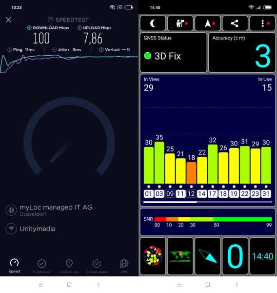 Xiaomi Redmi Note 6 Pro WLAN GPS