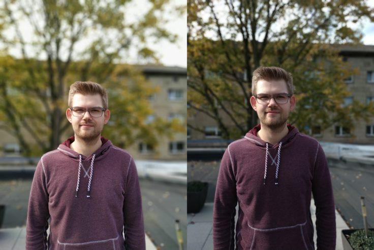 Xiaomi Redmi Note 6 Pro vs Note 5 Portrait