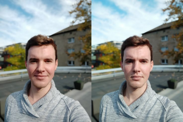 Xiaomi Redmi Note 6 Pro vs Note 5 Portrait Selfie 2