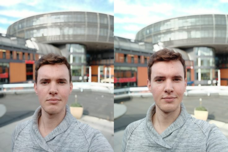Xiaomi Redmi Note 6 Pro vs Note 5 Portrait Selfie