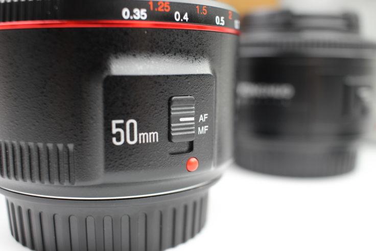 YONGNUO 50mm F/1.8 Objektiv Autofokus