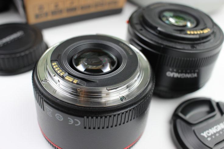 YONGNUO 50mm F/1.8 Objektiv Metallbajonett