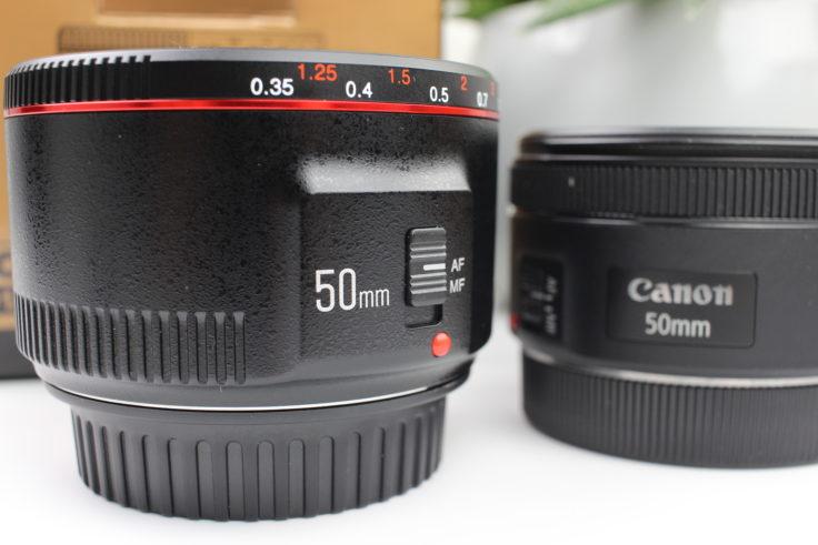 YONGNUO 50mm F/1.8 Objektiv Vergleich Canon
