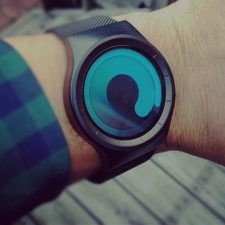 Zeigerlose Sinobi Armbanduhr