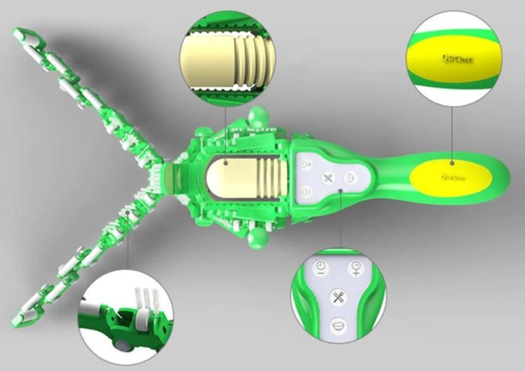 Elektronischer Hand-Geschirrspüler Design