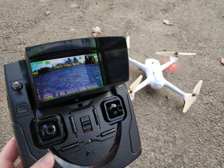 Hubsan H501S Drohne Fernsteuerung