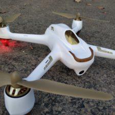 Hubsan H501S Drohne closeup
