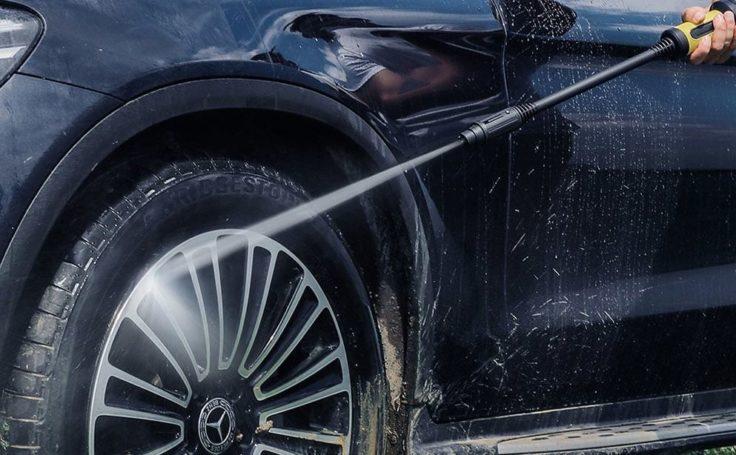 Jimmy JW31 Hochdruckreiniger Reifen Reinigung