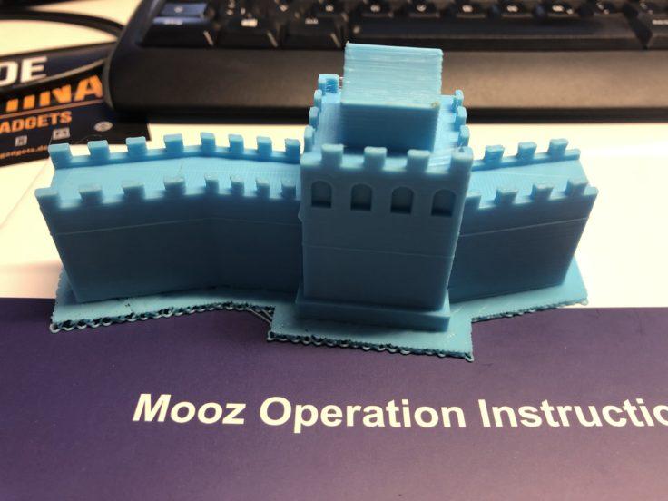 Mooz 3D-Drucker Chinesische Mauer