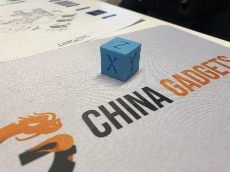 Mooz 3D-Drucker Kalibrierungswürfel XYZ
