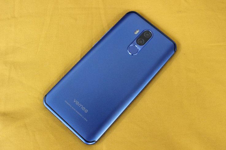 Vernee M8 Pro Smartphone Rückseite