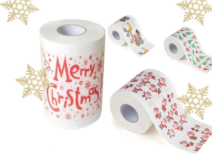 Weihnachtsklopapier