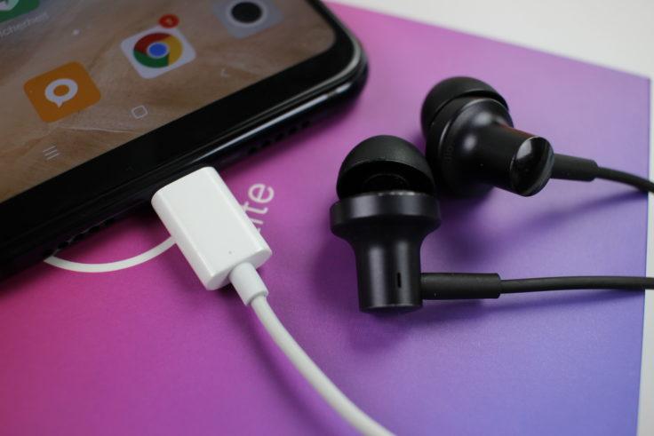 Xiaomi Mi 8 Lite Kopfhörer Adapter