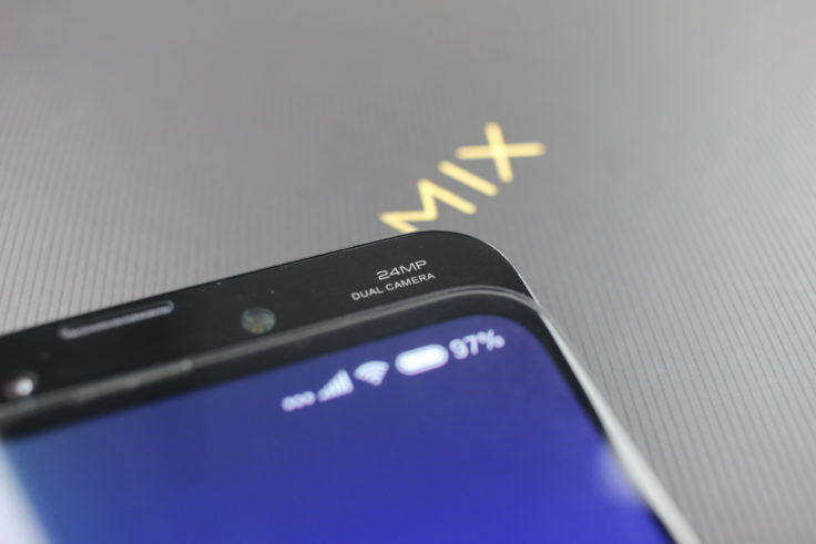 Xiaomi Mi Mix 3 Frontkamera Dual Cam Logo