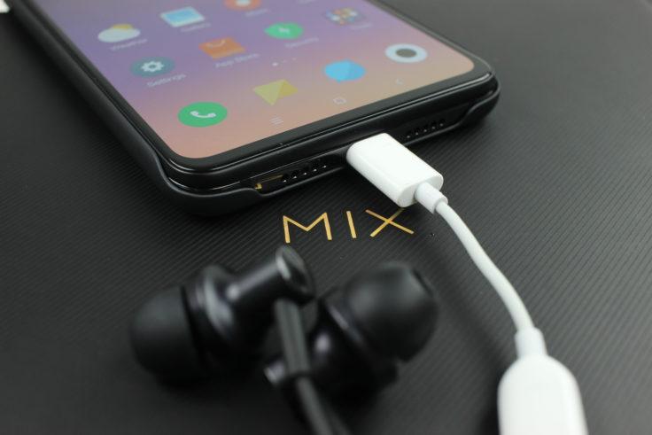 Xiaomi Mi Mix 3 Kopfhöreradapter