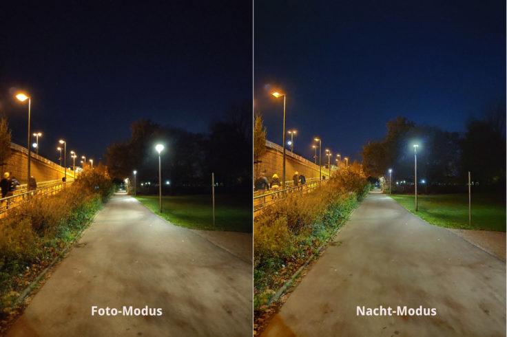 Xiaomi Mi Mix 3 Testfoto Nachtmodus Vergleich