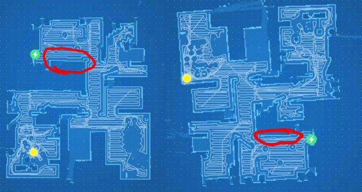 Xiaomi RoboRock S50 Mapping App Karte schräg eingezeichnet