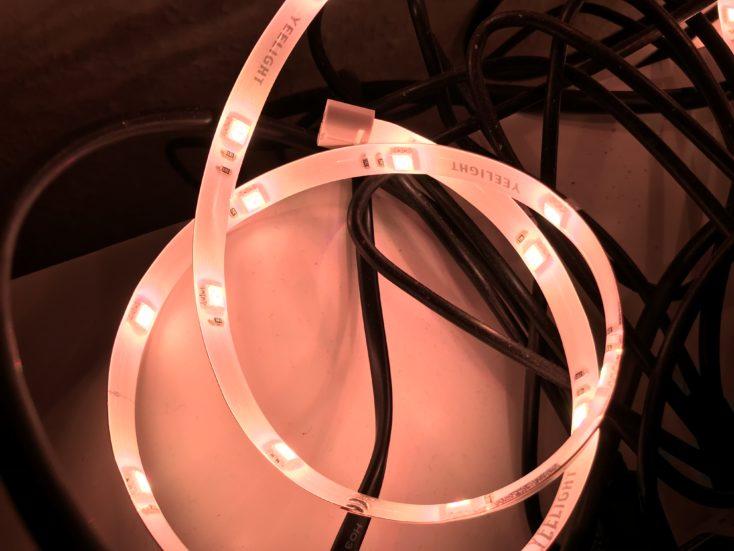 Yeelight LED Strip 2 Leuchten Farbe