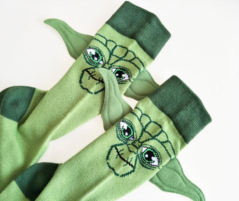 Yoda Socken mit Ohren