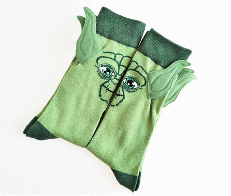 Socken Ohren Yoda