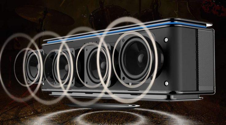 Zealot S7B Bluetooth Lautsprecher Treiber